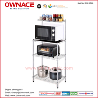 OW-WD06 Metal Rack kitchen stand kitchen shelf, Customized NSF Approved Kitchen Rack , kitchen spice rack