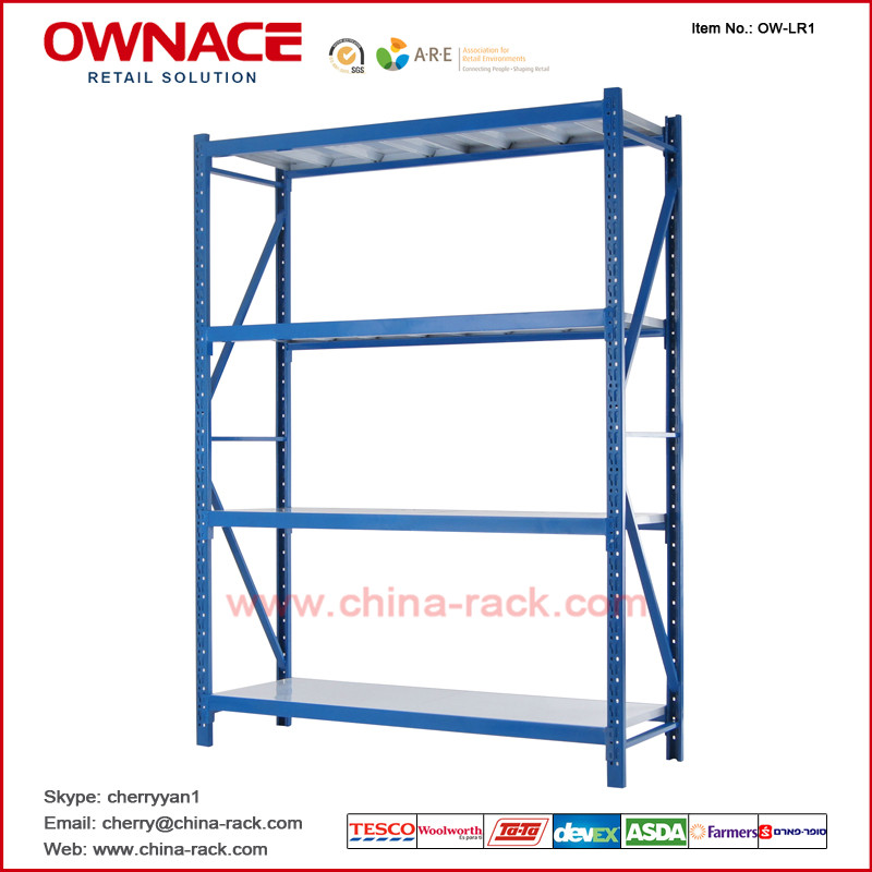 OW-LR1 Movable Pallet Light/Heavy Duty Shelf for Warehouse Storage Rack Pallet Rack System