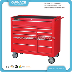 OW-BR4711 42 Inch Multi-layer Drawers Heavy Duty Tool Roller Cabinet