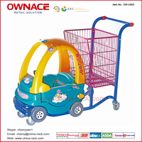 OW-C003 Supermarket Shopping Basket Buggy Trolley/Cart for Children