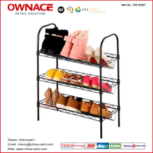 OW-WD07 Shoe Cabinets Racks, Living Room Furniture Organizer, Shoe Storage, Iron Wire Shoes Rack