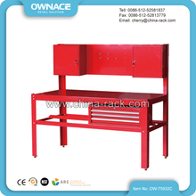 OW-T5932C Heavy Duty Steel Workbench with Back Panel