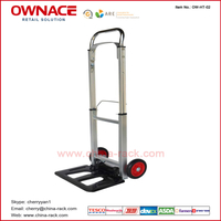 High Quanlity Aluminium Alloy Airport Luggage Trolley For Passenger