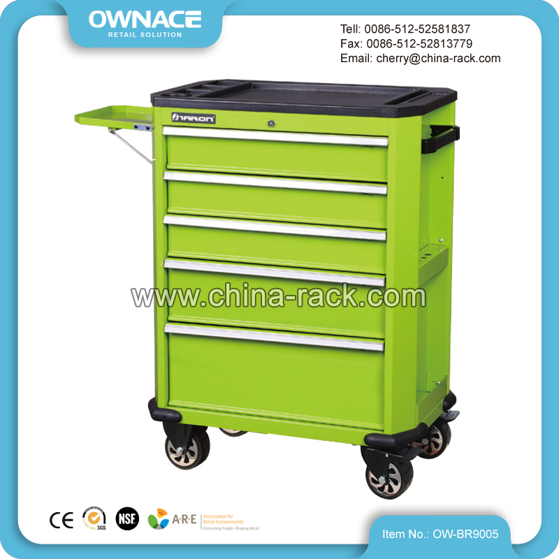OW-BR9005 Service Tool Cabinet Trolley on Wheels